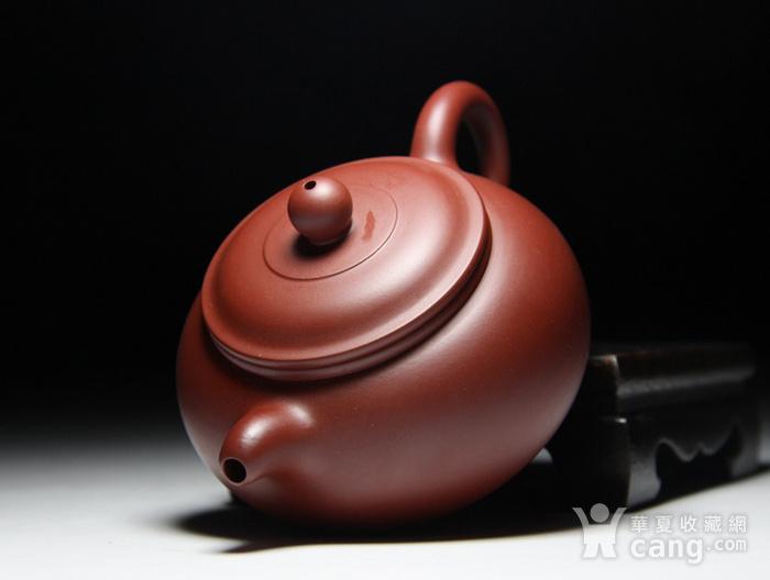 肖霞 原矿朱泥大红袍  双线壶图6