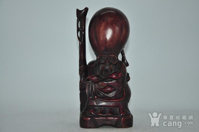 木雕寿星老图1