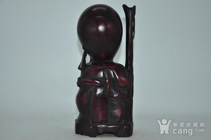 木雕寿星老图3