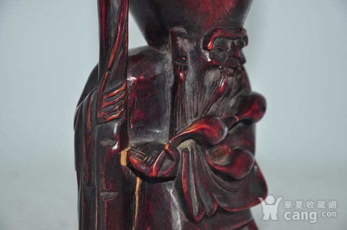 木雕寿星老图10