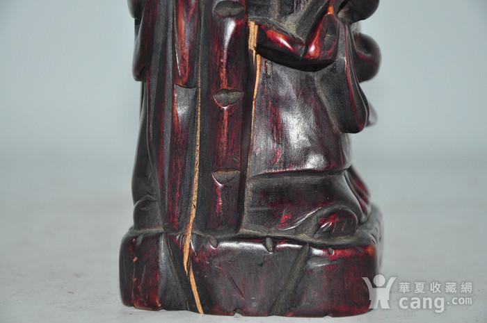 木雕寿星老图11
