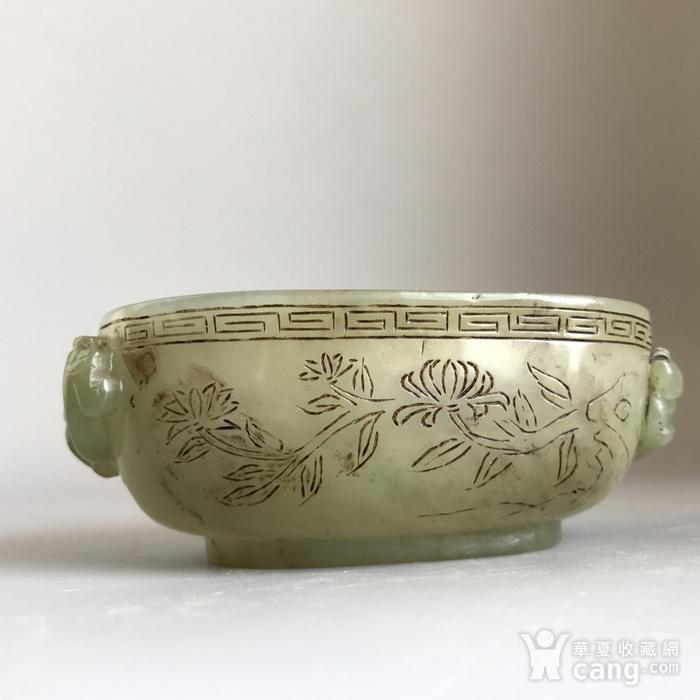 清代玉雕精品 乾隆痕都斯坦工龙纹玉杯图2