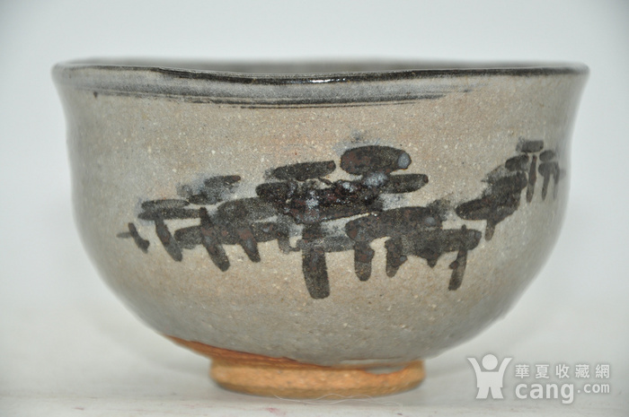 日本茶道瓷碗两个图8