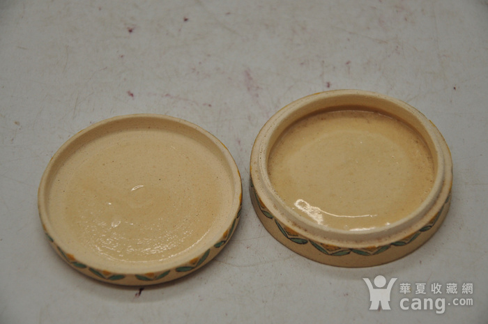 日本瓷塑小香盒四个图8