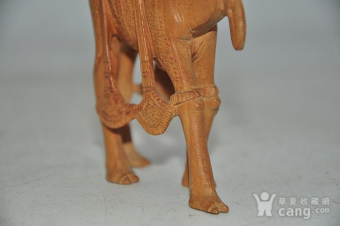 几十年印度檀香木雕刻骆驼图8
