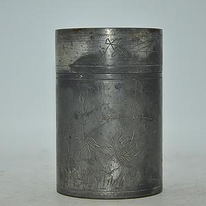 锡器茶叶罐