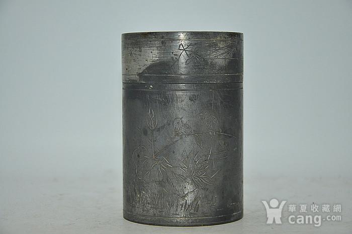 锡器茶叶罐图1