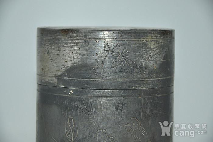 锡器茶叶罐图3