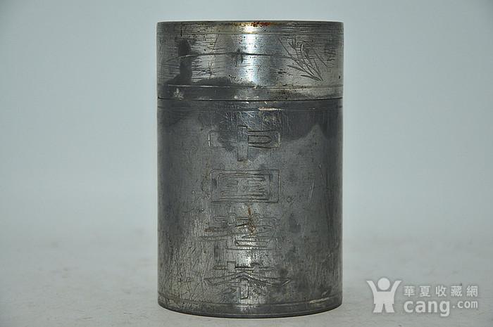 锡器茶叶罐图2