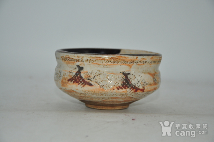 日本茶道专用瓷碗图2