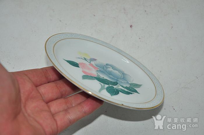 80年代醴陵群力釉下五彩小瓷碟图8