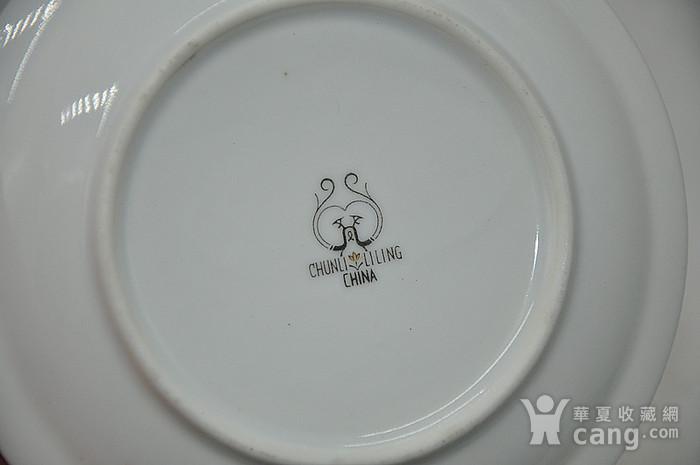 80年代醴陵群力釉下五彩小瓷碟图12