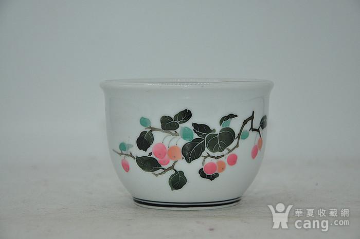 80年代醴陵釉下五彩小花盆图3