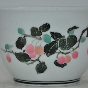 80年代醴陵釉下五彩小花盆