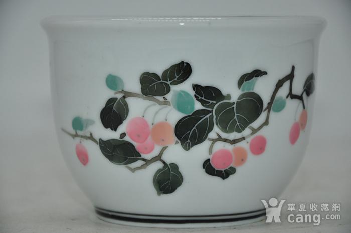 80年代醴陵釉下五彩小花盆图1