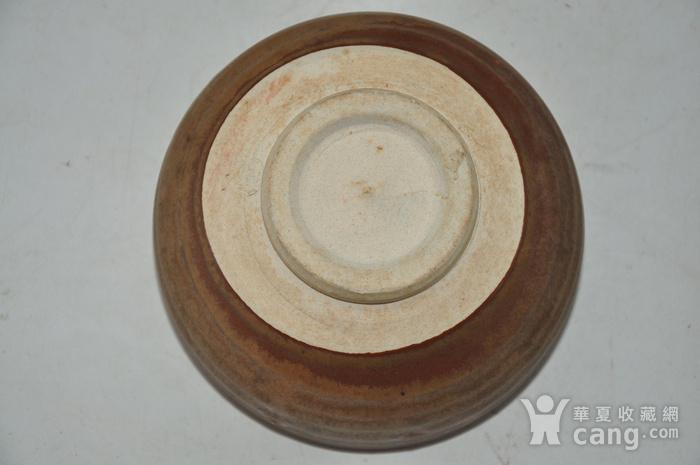 日本春山款酱釉茶碗图7