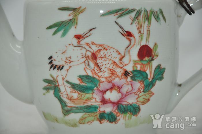 粉彩老茶壶图2