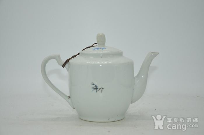 粉彩老茶壶图3