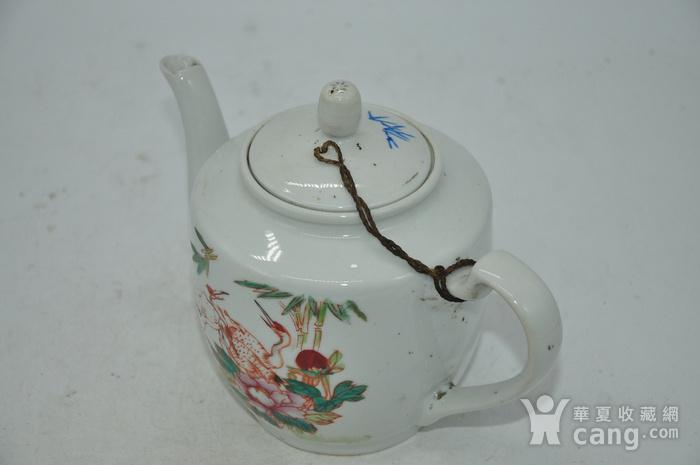 粉彩老茶壶图6
