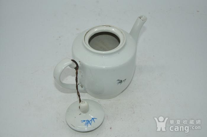 粉彩老茶壶图7