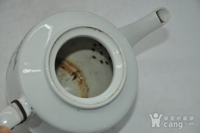 粉彩老茶壶图8