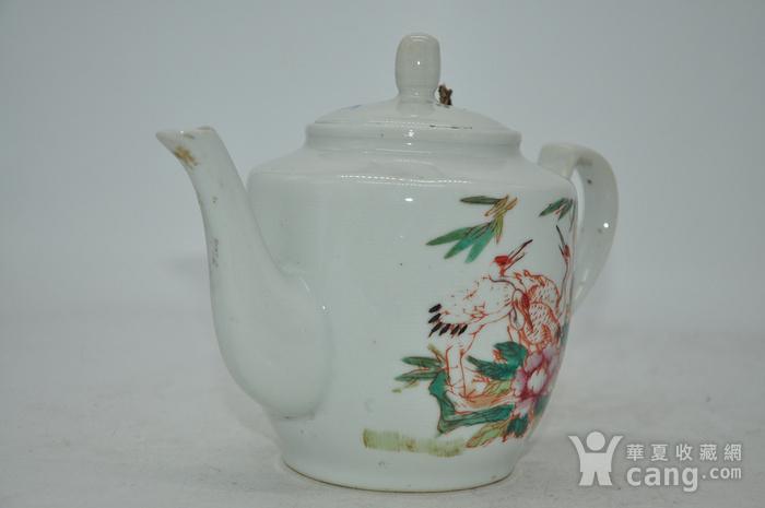 粉彩老茶壶图4
