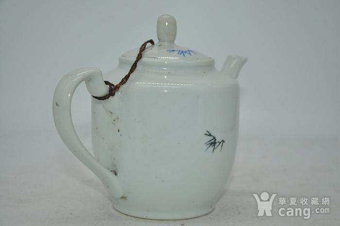 粉彩老茶壶图5
