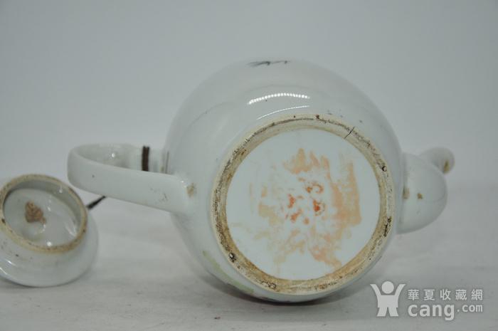 粉彩老茶壶图9