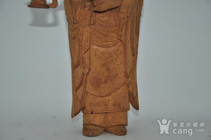 木雕侍女图3