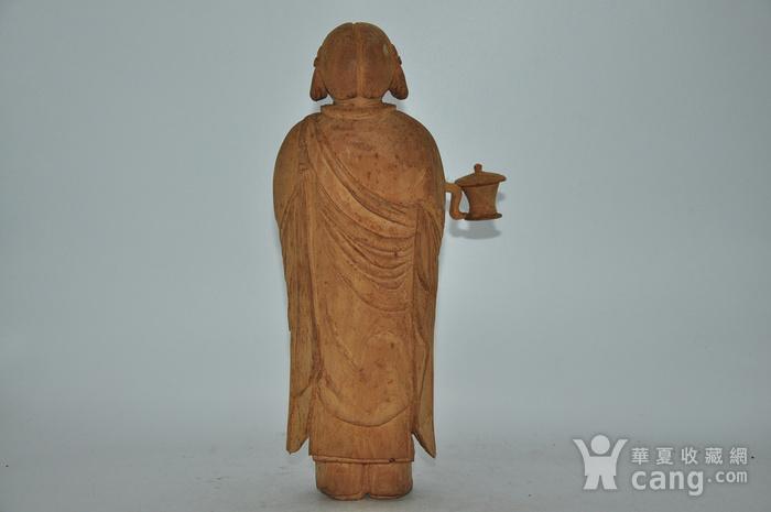 木雕侍女图5