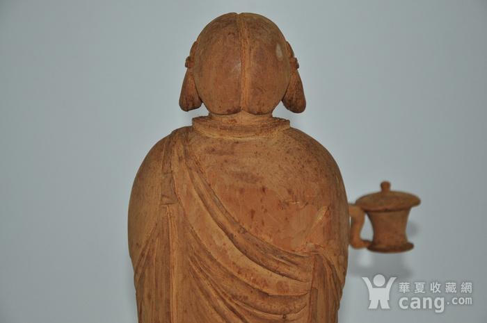 木雕侍女图6