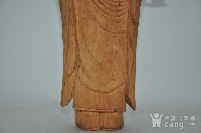 木雕侍女图7
