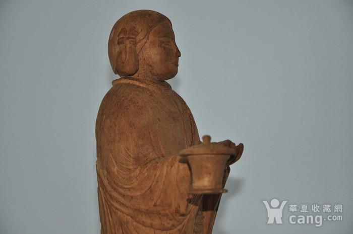 木雕侍女图8