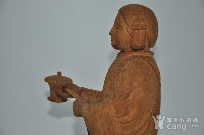 木雕侍女图10