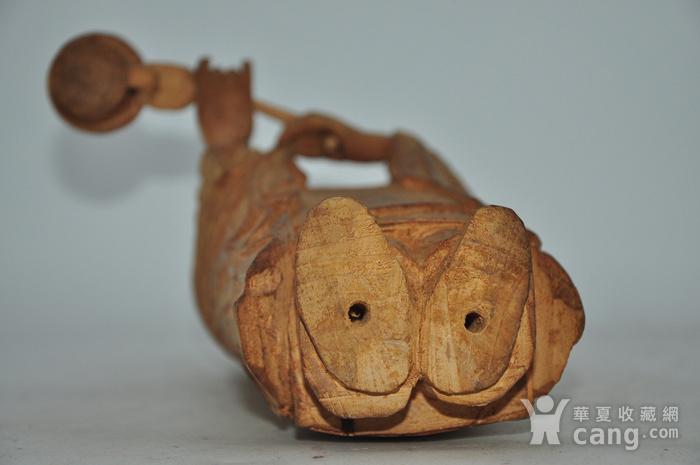 木雕侍女图12