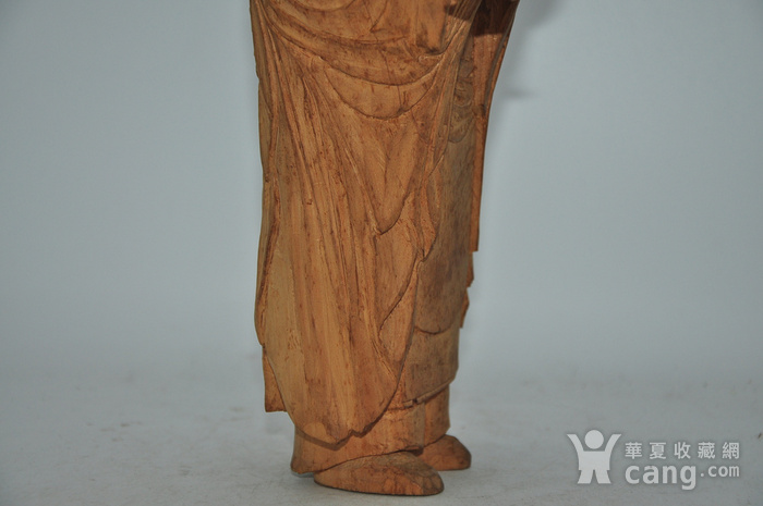 木雕侍女图9