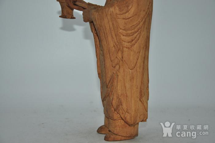 木雕侍女图11