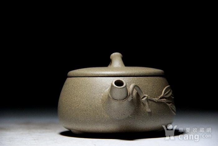 吴国良老段泥竹节大口石瓢壶图8