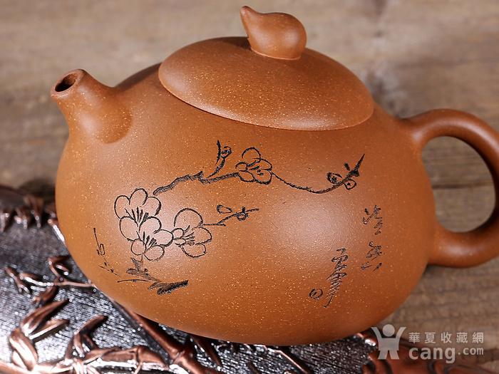 周红飞黄金段泥清香壶图9