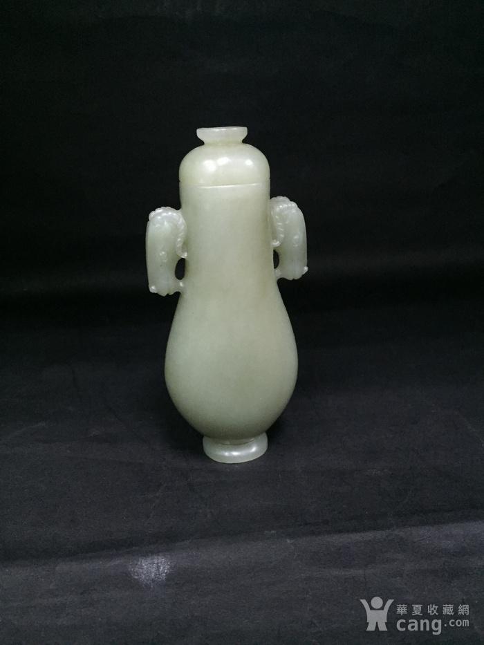 和田玉马头小瓶子图7