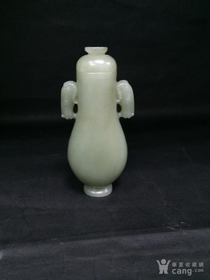 和田玉马头小瓶子图11
