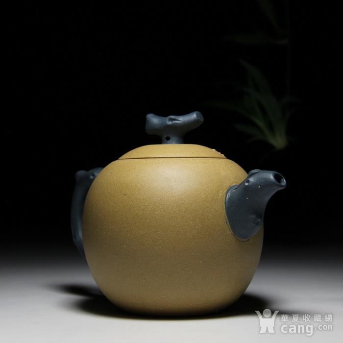 民间陶艺家段泥双色梅花图3