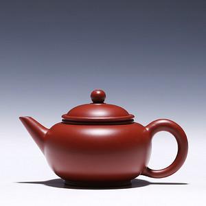 徐萍朱泥大红袍水平壶
