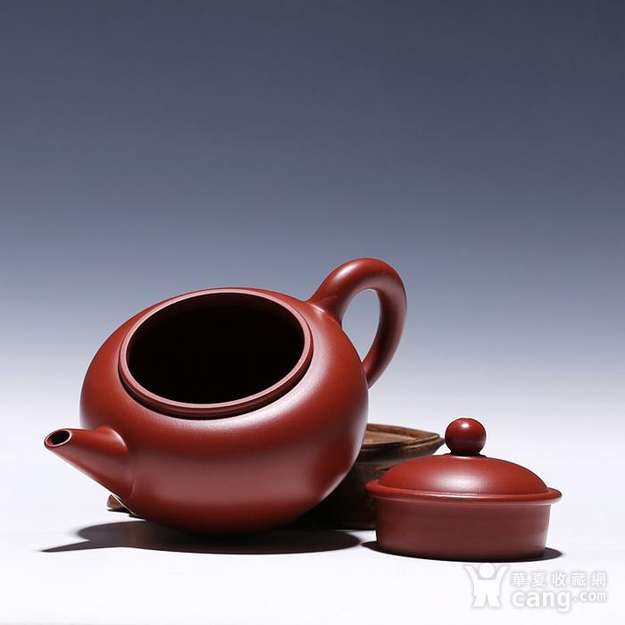徐萍朱泥大红袍水平壶图7