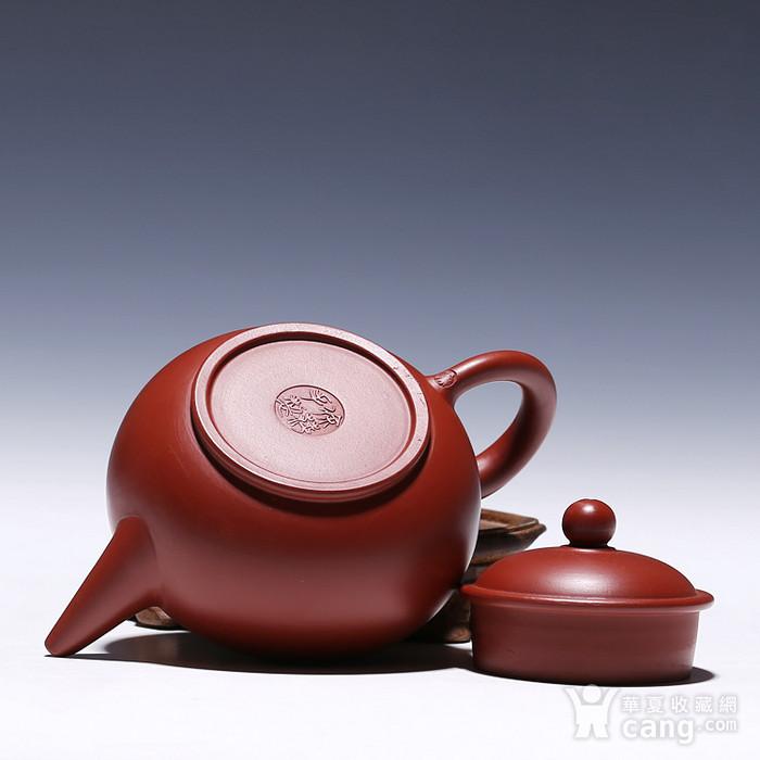 徐萍朱泥大红袍水平壶图8