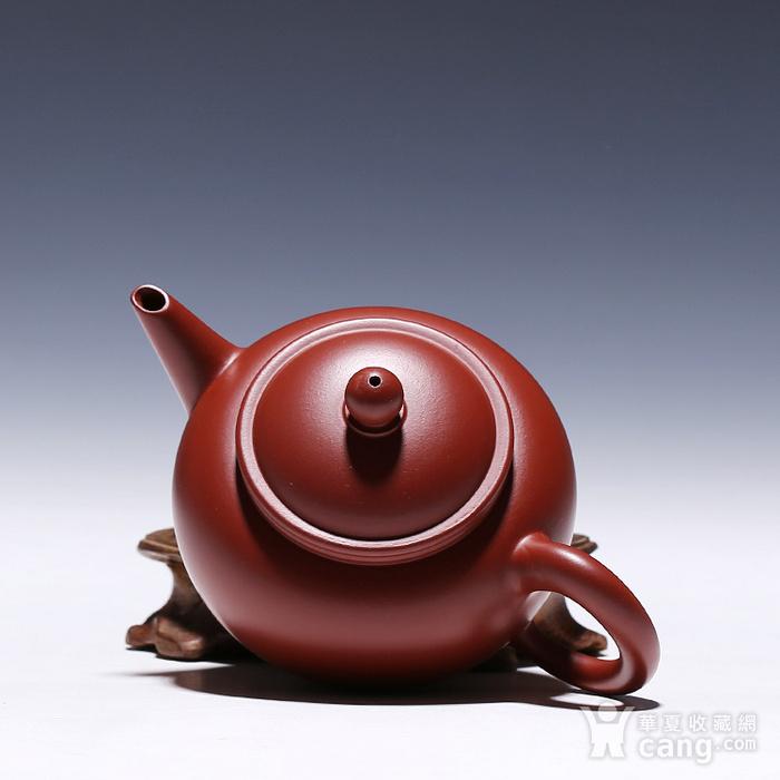 徐萍朱泥大红袍水平壶图9