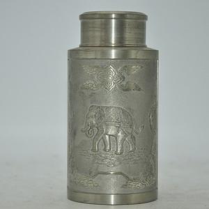 金智科技公司上市纪念茶叶罐