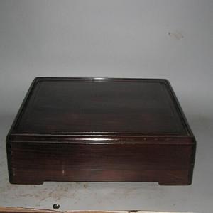 老红木方盒