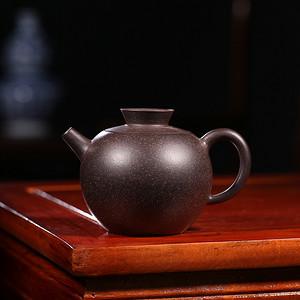 卢伟萍黑朱泥公道壶