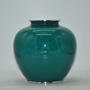 大几十年日本七宝烧花瓶